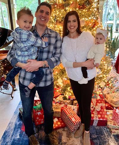 Dr. Ryan Lepore's Family Photo, Lepore Comprehensive Dentistry