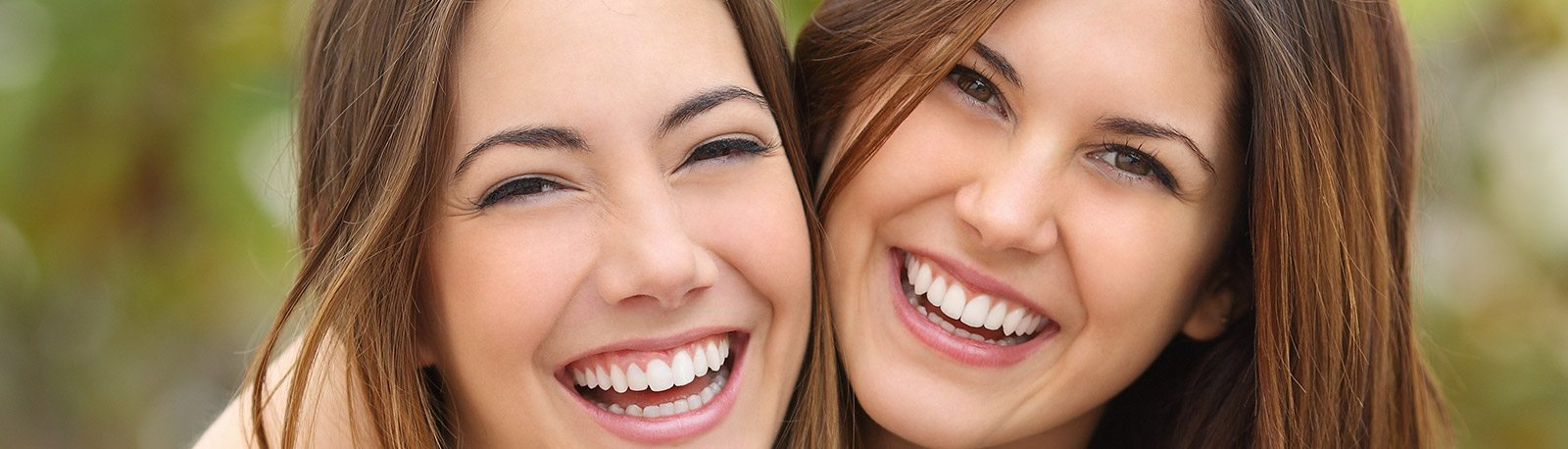 Girls with beautiful smile